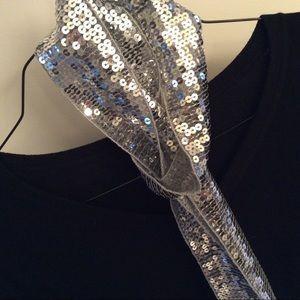 "Accessories - ❤️3/$15 60"" Sequin Scarf/Belt"